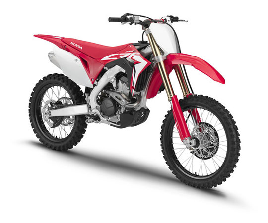 2019 Honda CRF250R in Lewiston, Maine - Photo 3