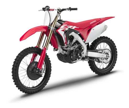 2019 Honda CRF250R in Lewiston, Maine - Photo 4