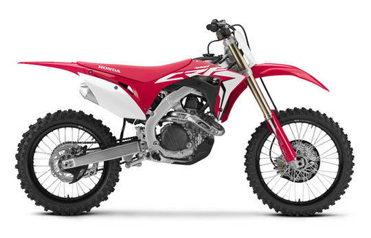 2019 Honda CRF450R in Monroe, Michigan - Photo 1