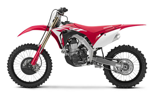 2019 Honda CRF450R in Belle Plaine, Minnesota - Photo 2