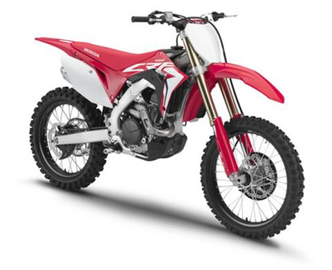 2019 Honda CRF450R in Coeur D Alene, Idaho - Photo 3