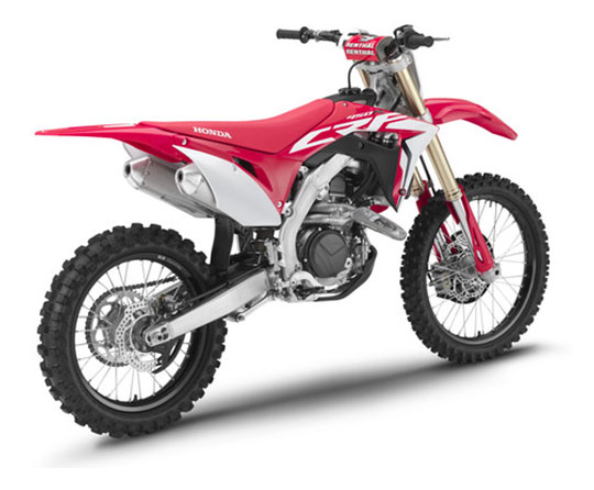 2019 Honda CRF450R in Springfield, Ohio