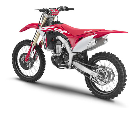 2019 Honda CRF450R in Monroe, Michigan - Photo 6