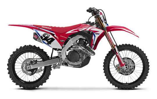 2019 Honda CRF450RWE in Monroe, Michigan - Photo 1