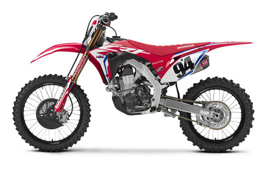 2019 Honda CRF450RWE in Merced, California - Photo 2