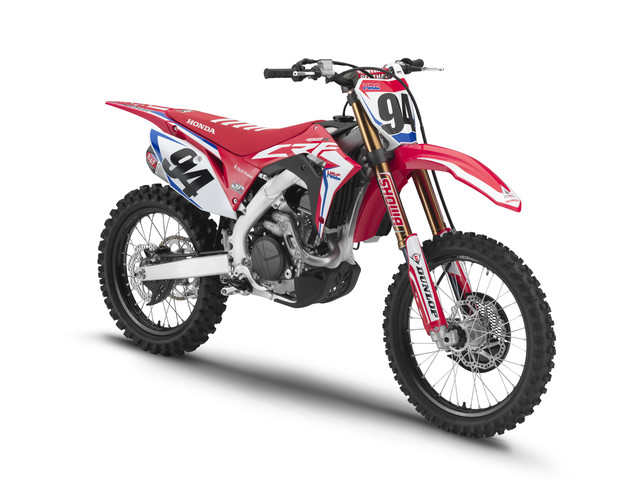 2019 Honda CRF450RWE in Brunswick, Georgia