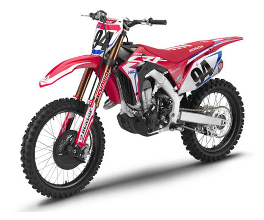 2019 Honda CRF450RWE in Sumter, South Carolina - Photo 4