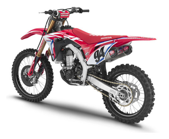 2019 Honda CRF450RWE in Baldwin, Michigan