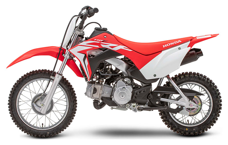 2019 Honda CRF110F in Iowa City, Iowa - Photo 2