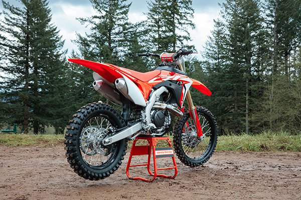 2019 Honda CRF450RX in Grass Valley, California - Photo 8