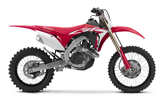 2019 Honda CRF450RX in Lapeer, Michigan - Photo 1