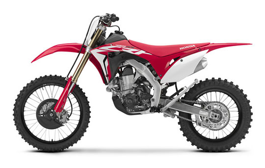 2019 Honda CRF450RX in Sterling, Illinois