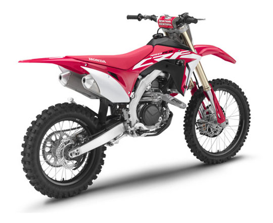 2019 Honda CRF450RX in Amherst, Ohio - Photo 5