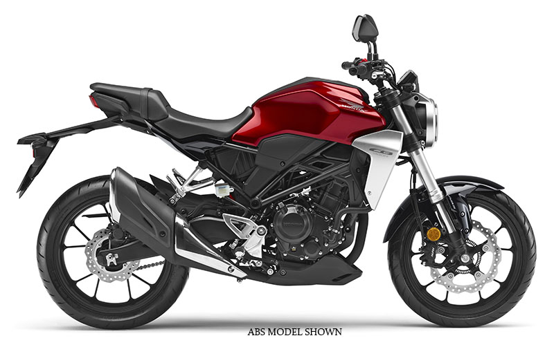 2019 Honda CB300R in Lincoln, Maine