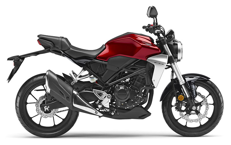 2019 Honda CB300R ABS in Iowa City, Iowa