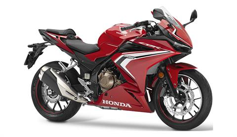 2019 Honda CBR500R in Greenwood, Mississippi