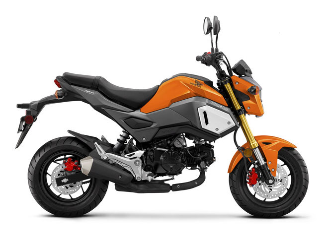 2019 Honda Grom in Belle Plaine, Minnesota