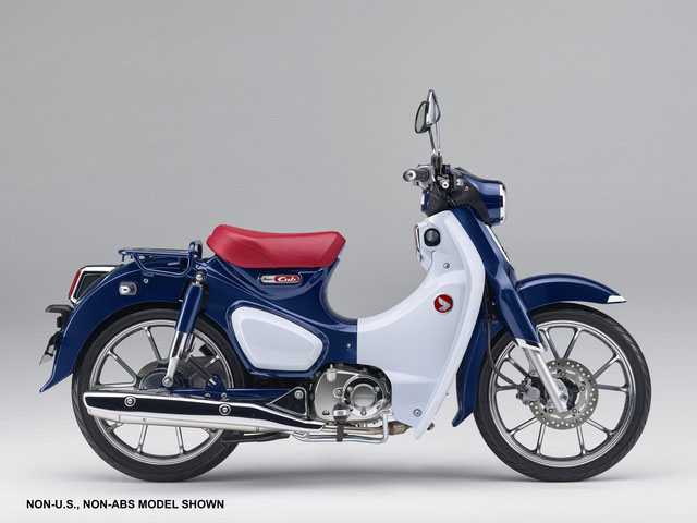 2019 Honda Super Cub C125 ABS in Mount Vernon, Ohio