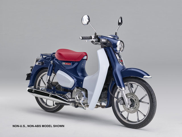 2019 Honda Super Cub C125 ABS in Centralia, Washington