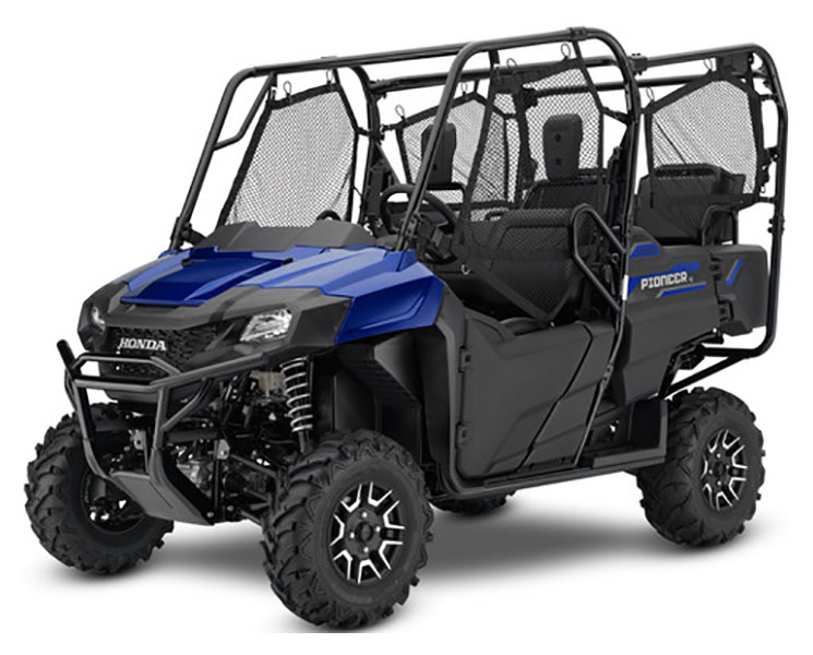 2019 Honda Pioneer 700-4 Deluxe in Monroe, Michigan - Photo 1