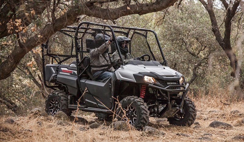 2019 Honda Pioneer 700-4 Deluxe in West Bridgewater, Massachusetts - Photo 6