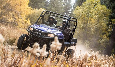 2019 Honda Pioneer 700-4 Deluxe in West Bridgewater, Massachusetts - Photo 7
