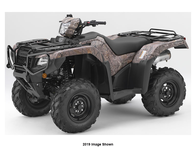 2020 Honda FourTrax Foreman Rubicon 4x4 Automatic DCT EPS Deluxe in Shawnee, Kansas - Photo 1