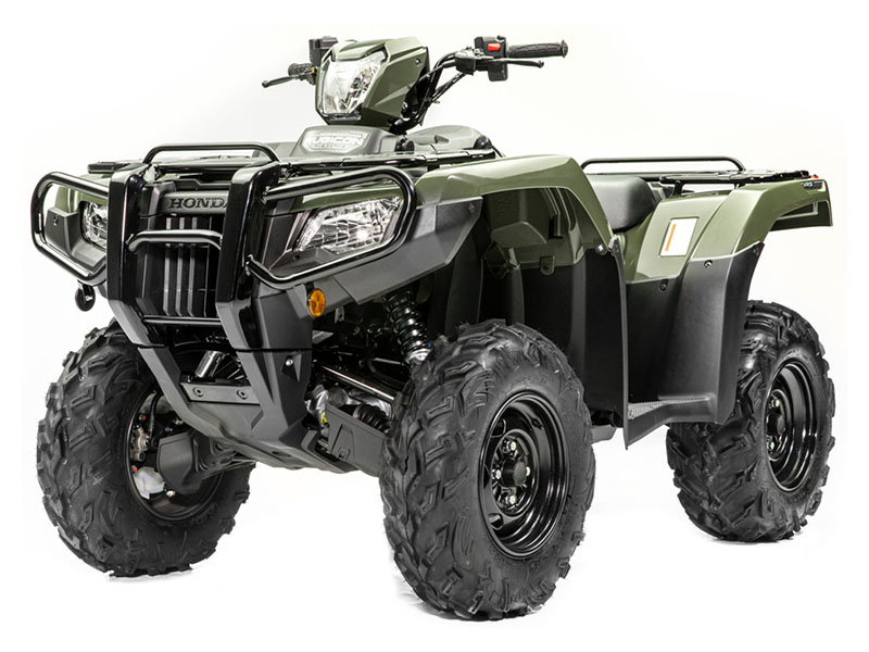 2020 Honda FourTrax Foreman Rubicon 4x4 Automatic DCT EPS Deluxe in Hollister, California - Photo 2