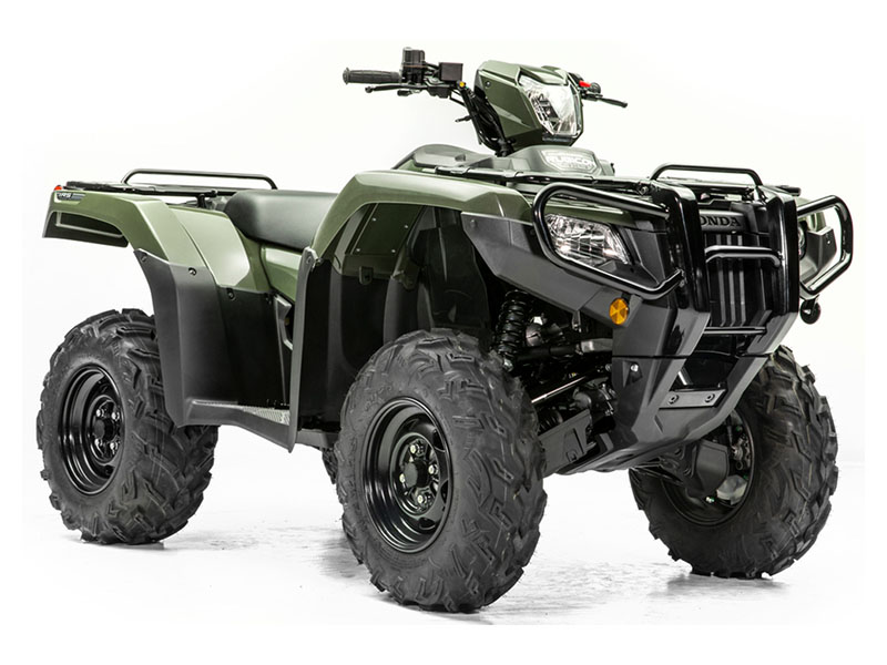 2020 Honda FourTrax Foreman Rubicon 4x4 Automatic DCT EPS Deluxe in Hollister, California - Photo 3