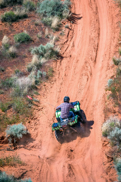 2020 Honda FourTrax Foreman Rubicon 4x4 Automatic DCT EPS Deluxe in Clovis, New Mexico - Photo 16