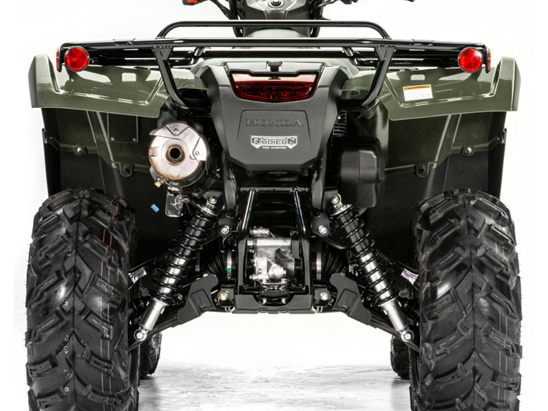 2020 Honda FourTrax Foreman Rubicon 4x4 Automatic DCT EPS Deluxe in Huron, Ohio - Photo 9