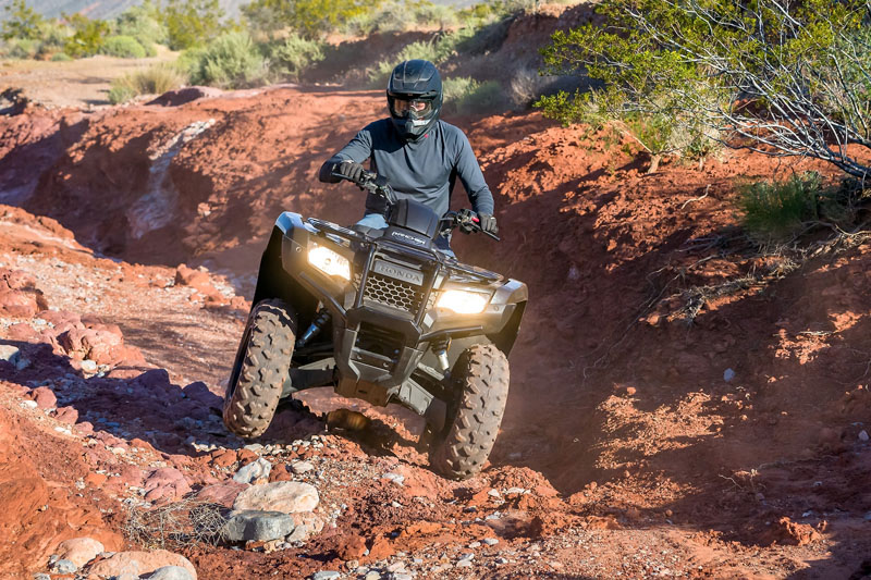 2020 Honda FourTrax Rancher in Merced, California - Photo 2