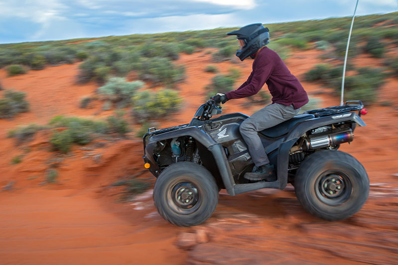 2020 Honda FourTrax Rancher 4x4 Automatic DCT EPS in San Francisco, California - Photo 3
