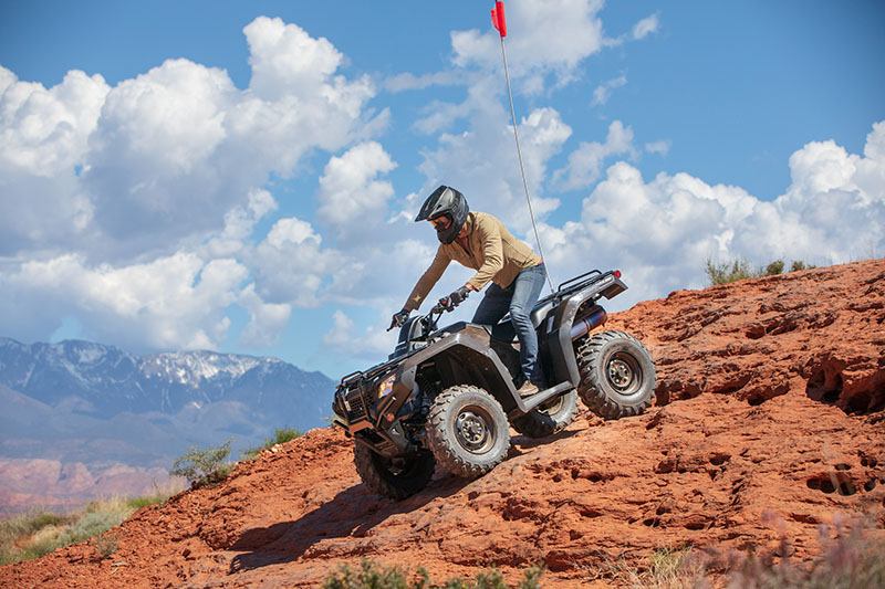 2020 Honda FourTrax Rancher 4x4 Automatic DCT IRS in Fremont, California - Photo 5