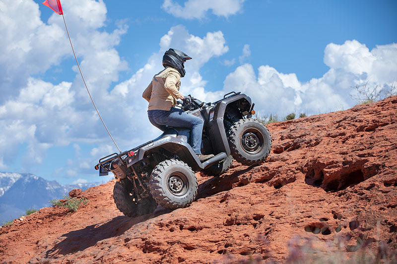 2020 Honda FourTrax Rancher 4x4 Automatic DCT IRS in Lincoln, Maine - Photo 6
