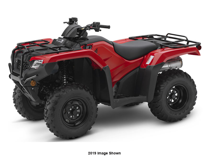 2020 Honda FourTrax Rancher 4x4 Automatic DCT IRS in Escanaba, Michigan - Photo 1