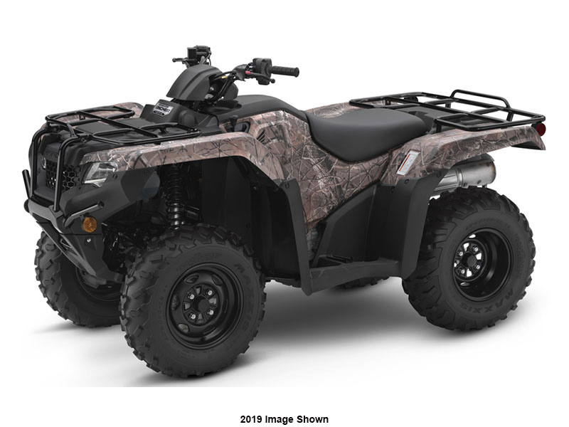 2020 Honda FourTrax Rancher 4x4 ES in Lincoln, Maine - Photo 1