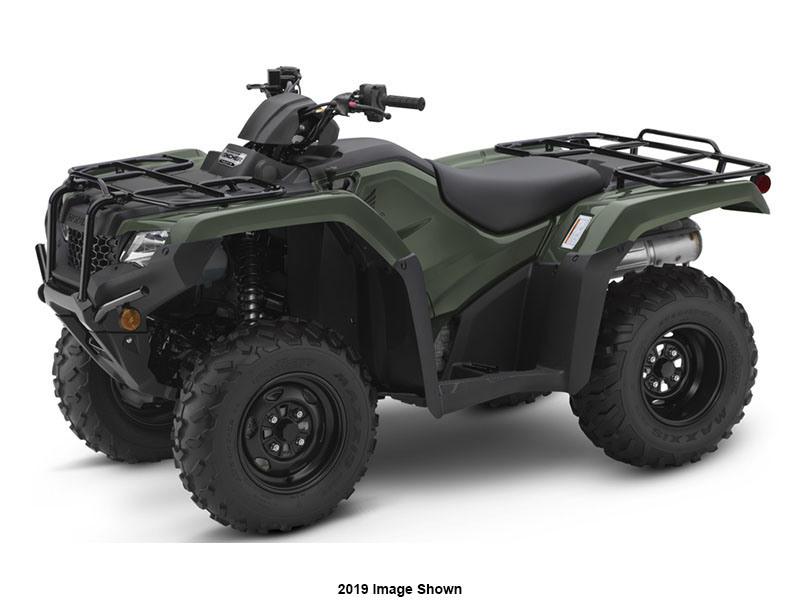 2020 Honda FourTrax Rancher 4x4 ES in Monroe, Michigan - Photo 1