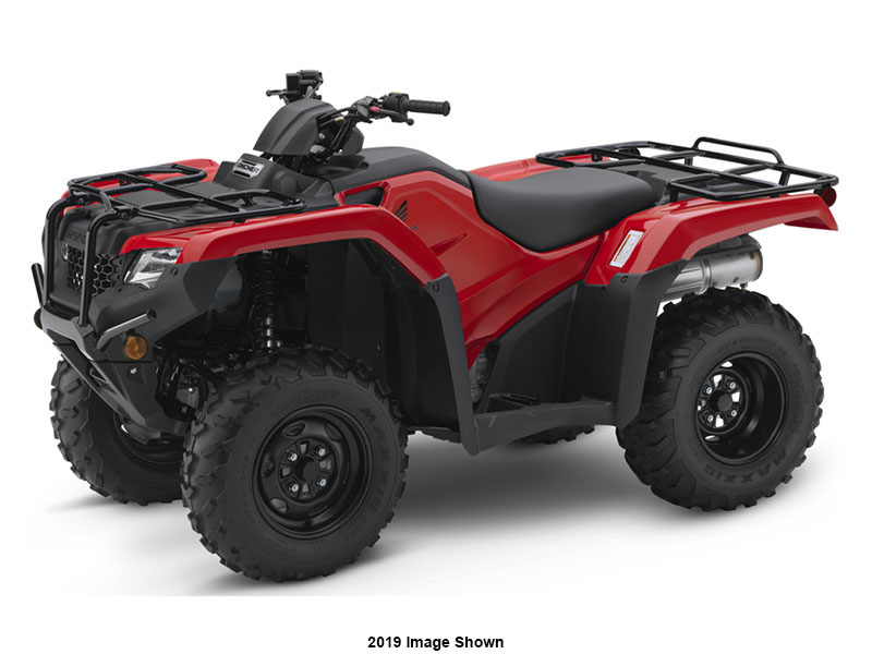 2020 Honda FourTrax Rancher ES in Lewiston, Maine - Photo 1
