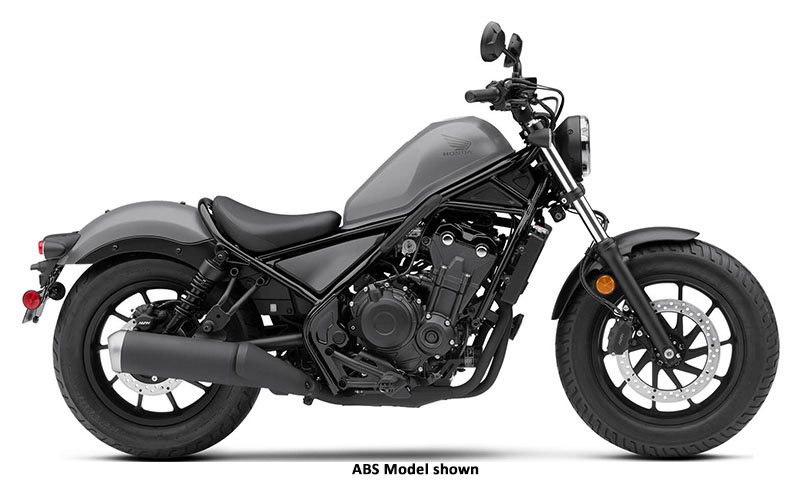 2020 Honda Rebel 500 in Lapeer, Michigan - Photo 1