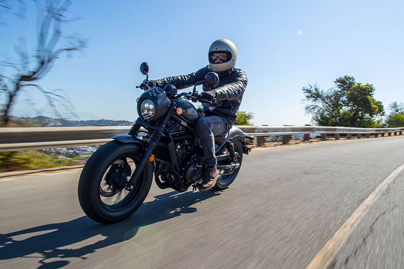 2020 Honda Rebel 500 ABS in Bennington, Vermont - Photo 8