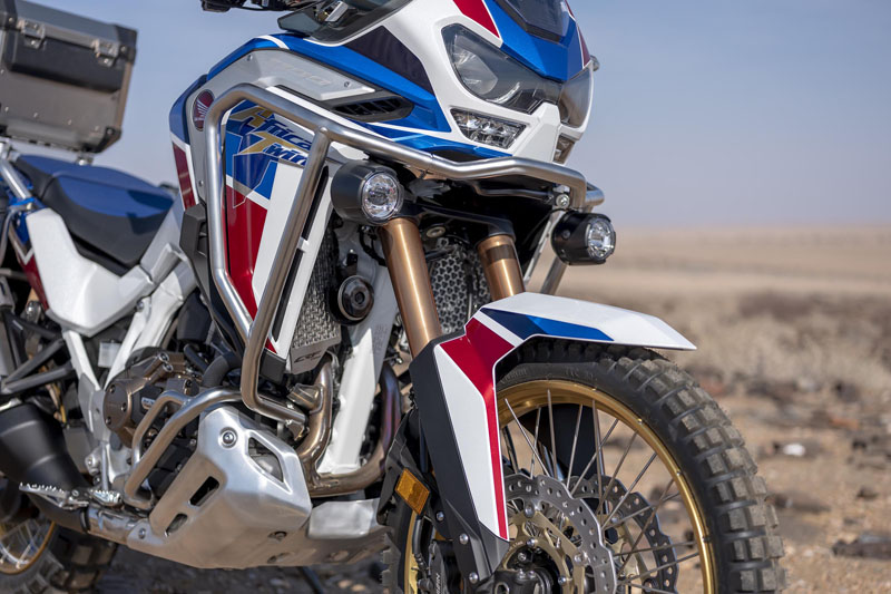 2020 Honda Africa Twin Adventure Sports ES DCT in Brilliant, Ohio - Photo 2
