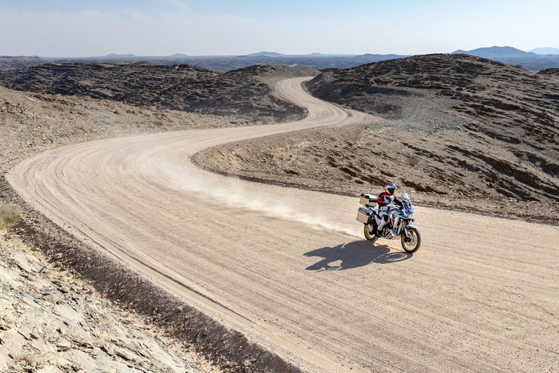 2020 Honda Africa Twin Adventure Sports ES DCT in Lewiston, Maine - Photo 8