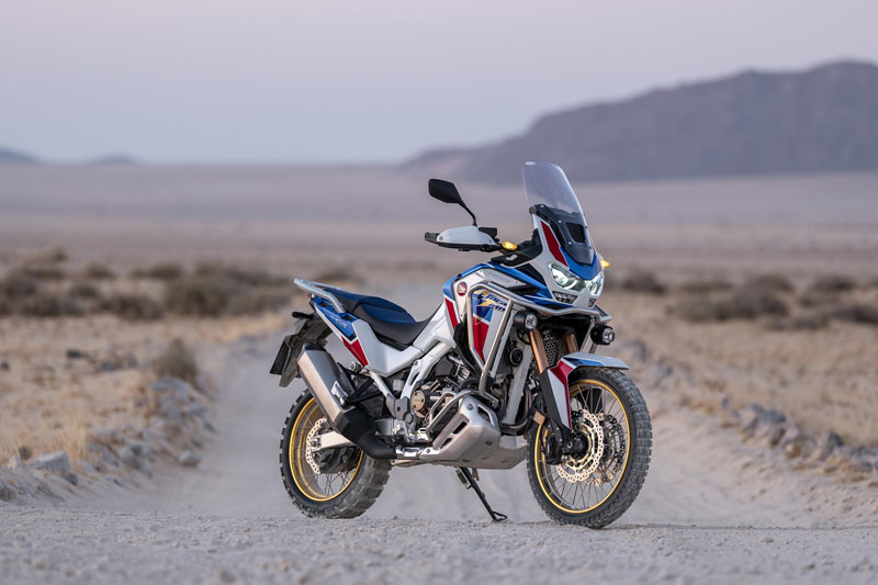 2020 Honda Africa Twin DCT in Berkeley, California - Photo 6