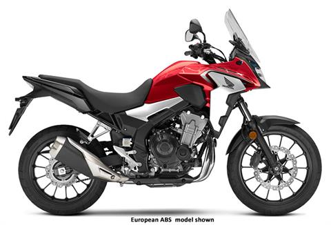 2020 Honda CB500X in Aurora, Illinois