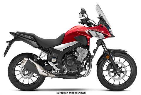 2020 Honda CB500X ABS in Iowa City, Iowa