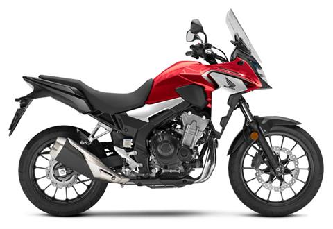 2020 Honda CB500X ABS in Visalia, California