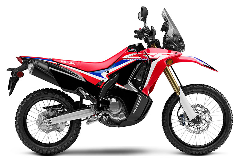 2019 Honda CRF250L Rally ABS in Greenville, North Carolina