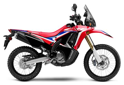 2020 Honda CRF250L Rally in Lakeport, California