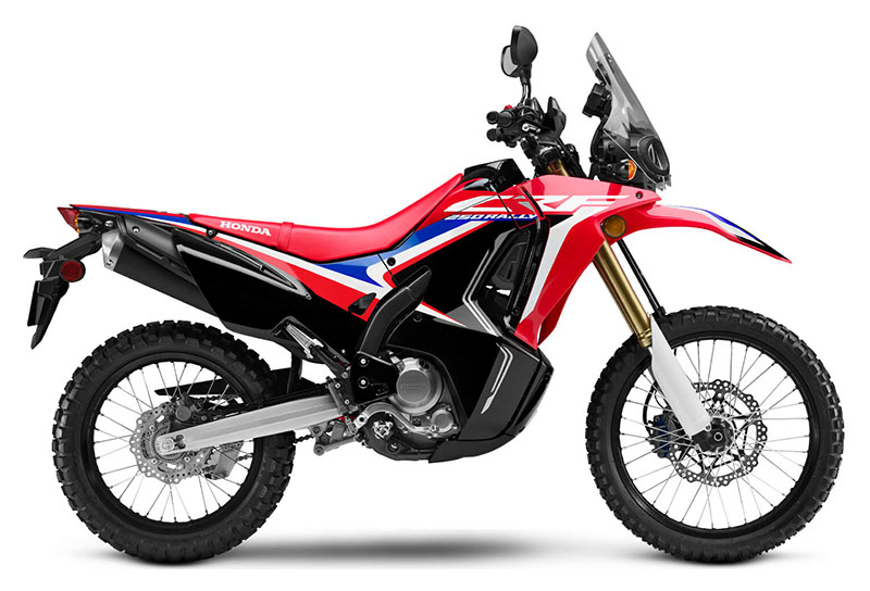 2020 Honda CRF250L Rally ABS in Rice Lake, Wisconsin